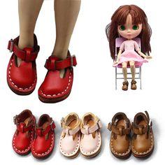 Девушка игрушка милые милый подарок 3,5 см мини куклы Аксессуары 1/6 BJD Blythe кожаная обувь – купить по низким ценам в интернет-магазине Joom