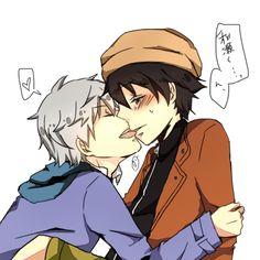 Future Diary Akise and Yuki | ... yukiteru akise aru yaoi shounen ai boys love mirai nikki future diary