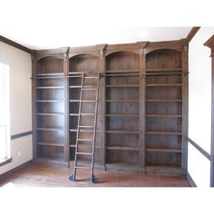 15 Ideas For Kitchen Pantry Closet Library Ladder Closet Library, Library Bedroom, Home Library Rooms, Library Bookshelves, Library Ladder, Home Library Design, Home Libraries, Built In Bookcase, Bookcases