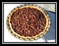 High Altitude Pecan Pie
