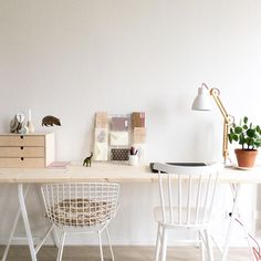Office Organization, Organizing, White Room Decor, Workspaces, Office Ideas, Product Design, Future House, Interior Inspiration, Home Office