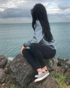 Frente al mar.