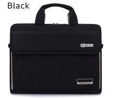Beautiful Black Laptop bag Case Messenger Handbag Case MacBook Gift Laptop Messenger Bags, Laptop Bag, Notebook Case, Laptop Shoulder Bag, Black B, Macbook Case, Office Gifts, Gym Bag, Digital