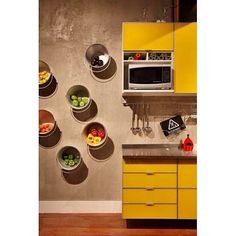 Bom dia com ideia criativa para cozinha! #ahlaemcasa #cozinha #balde #organização #bomdia