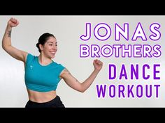 JONAS BROTHERS DANCE WORKOUT | Full Body Cardio Workout - YouTube Jonas Brothers, Full Body, At Home Workouts, Cardio, Dance Fitness, Youtube, Home Workouts, Youtubers, Youtube Movies