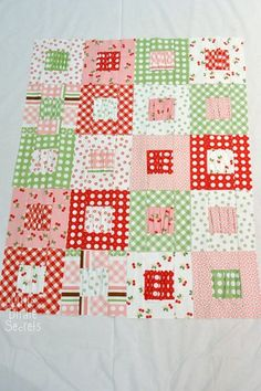 Gather Love Baby Quilt Tutorial