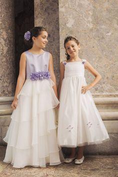#imperocouture #impero #rosygirl #baby #bambina #dress #white #bianco #fashion #style #lavendergray #grigiolavanda