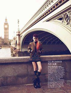 millenium: sophie srej by koray birand for glamour france september 2012