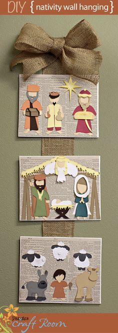 This sweet little nativity set features Three Wise Men, Mary, Joseph and baby Jesus, an angel, shepherd boy, a camel, a donkey, three sheep, and a stable to house them all in.