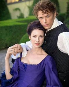 Sam Heughan & Caitriona Balfe - as Jamie and Claire of the Outlander series, Claire Fraser, Jamie Fraser, Jamie And Claire, Fraser Clan, James Fraser Outlander, Sam Heughan Outlander, Diana Gabaldon Outlander Series, Outlander Tv Series, Starz Outlander
