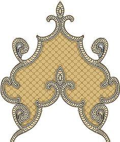 Baroque Design, Baroque Pattern, Pattern Art, Textiles, Textile Patterns, Textile Prints, Textile Design, Boarder Designs, Paisley Art