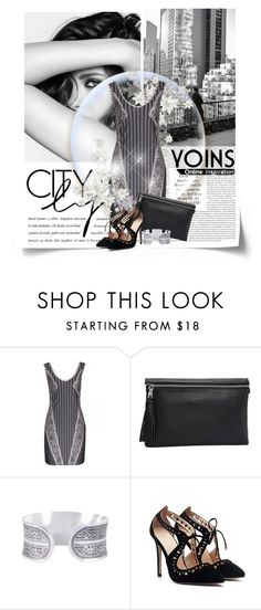"""""""Untitled #325"""" by zeljanadusanic ❤ liked on Polyvore featuring Chanel, yoins and yoinscollection"""
