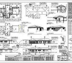3 Bedroom House Plans | Single Story House Designs |NethouseplansNethouseplans 6 Bedroom House Plans, 4 Bedroom House Designs, Garage House Plans, Double Storey House Plans, Double Story House, House Construction Plan, Construction Design, Free House Plans, Modern House Plans