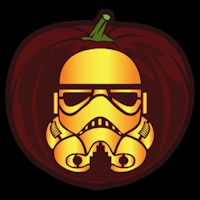 Stormtrooper 02 CO - Stoneykins Pumpkin Carving Patterns and Stencils