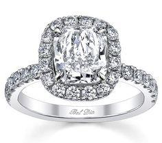 #ToDieFor #Thursday with #Capri #Jewelers #Arizona ~ www.caprijewelersaz.com  ♥ cushion cut engagement rings