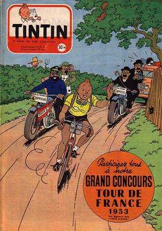 Tintin and Tour de France