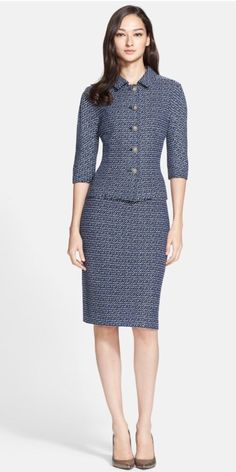 Goodbye Valentino | The St. John Suit by Julie Starr (guest post)