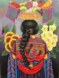 indigodreams:  Antonio Coche Mendoza Mexican Artwork, Mexican Folk Art, Mexican Textiles, Mexico Culture, Mexico Art, Southwest Style, Prismacolor, Various Artists, Textile Art