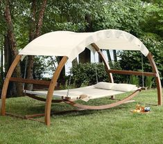 I ABSOLUTELY LOVE THIS!!! Garden Oasis Arch Swing - $769