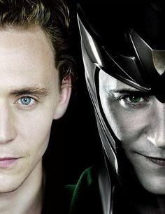 Loki & Tom Hiddleston/ Molly loves the bad boys!!
