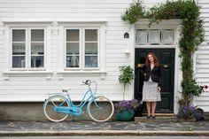 Sykkelpikene på tur i Kvadraturen