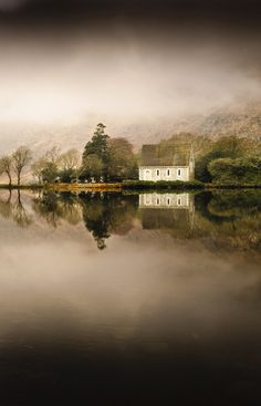 Church & Lake reflection - Gougonne Barra, West Cork, Ireland | Flickr
