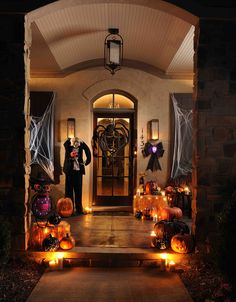 An Almost Peaceful Halloween Setting
