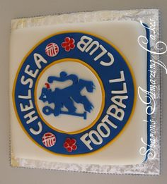 Another Chelsea Football Club Logo Cake