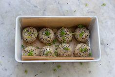 Sesame Almond Brown Rice Balls Recipe via 101 Cookbooks. Whole Food Recipes, Vegan Recipes, Cooking Recipes, Brown Rice Cooking, Rice Balls, Pasta, Balls Recipe, Vegan Dishes, Food Inspiration