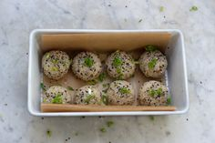 Sesame Almond Brown Rice Balls / 101 Cookbooks