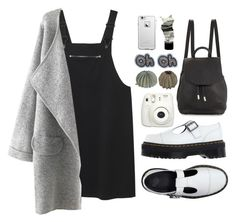 """""""Cooler than You"""" by donut-care ❤ liked on Polyvore featuring Dr. Martens, Monki, LifeProof, rag & bone, Aesop, StreetStyle and Minimaliststyle"""