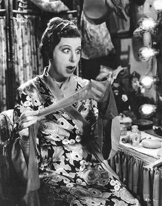 Fanny Brice - born Oct. 29, 1891 to May 29, 1951. Was a popular & influential American comedienne, singer, theater and film actress.