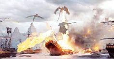 Drogon, Rhaegal & Viserion - Battle Of The Bastards Season 6 Episode 9 yaaaaaaaaassssssss  DRACARYS