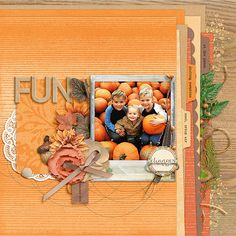 Digital: Picking Pumpkins