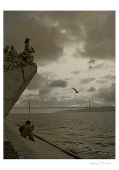 Lara Pires - Olhares sobre Lisboa  (The river Tagus in Lisbon)