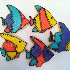 Aquarium party favors