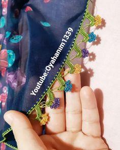 Oya Hanım Design 43 Different Crochet Lace Models Crochet Lace Edging, Knit Crochet, Baby Knitting Patterns, Crochet Patterns, Knitting Socks, Hand Embroidery, Design, Dish Towels, Crochet Motif