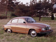 1976 Saab 96 L, even then it looked old.