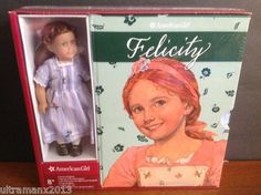 "American Girl Felicity 6 Book Set Board Game 6"" Mini Doll 2013   eBay"