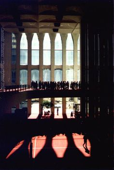 The Lobby and Mezzanine of the World Trade Center - Before 2001