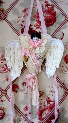 CHARLOTTE ANGEL HEART DOLL by Terri Gordon