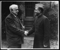 Netaji SB Bosee with British politician George Lansbury