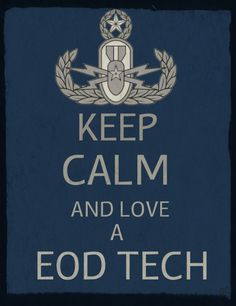 For my Master EOD tech fans..