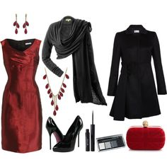 J'adore.  Red is such a timeless color!