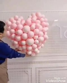 Diy Crafts Hacks, Diy Home Crafts, Creative Crafts, Balloon Crafts, Balloon Decorations, Husband Birthday Decorations, Birthday Surprise For Husband, Surprises For Husband, Wedding Balloons