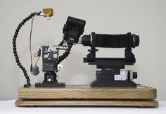 Macrophotography optical bench design #1
