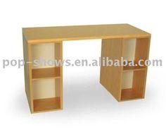 ENCF004 móveis de papelão ondulado, papelão desk