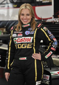 Brittany Force this is one girl that can drive