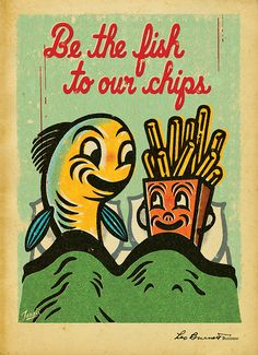 be the fish, gary taxali.