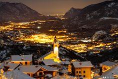 Susa e la sua valle sotto la neve #myValsusa 04.12.17 #fotodelgiorno di Massimo Olivero Pistoletto
